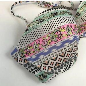 Victoria's Secret Swim - Victorias Secret Bandeau Bikini Top 34C Halter